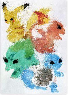 Elle dessine des super-héros et Pokémon avec des tâches d'encre.