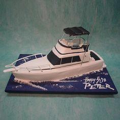 TLCS Cake Boss Facebook Post  Harveys Th Birthday Cake Great - Boat birthday cake ideas