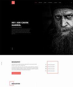 Wizard - Fullpage Portfolio Joomla Template (Portfolio) Nulled ...