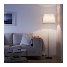 IKEA - LAUTERS, Floor lamp base with LED bulb, As the light can be dimmed, you are able to choose lighting suitable for every occasion.The height is adjustable to suit your lighting needs. At Home Furniture Store, Modern Home Furniture, Affordable Furniture, Find Furniture, Ikea Floor Lamp, Floor Lamp Base, Floor Lamps, Casa Stark, Led Lampe