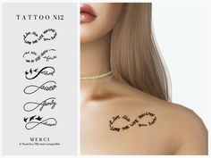 Tattoo is for both sexes from teen to elder. Found in TSR Category 'Sims 4 Female Tattoos' The Sims 4 Skin, The Sims 4 Pc, Sims 4 Mm Cc, Sims 4 Body Mods, Sims 4 Game Mods, Sims Mods, Sims 4 Mods Clothes, Sims 4 Clothing, Sims 4 Tattoos