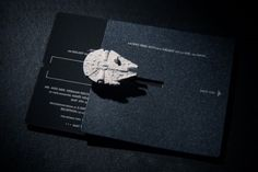 Star Wars Wedding Invites Include Their Own Starships