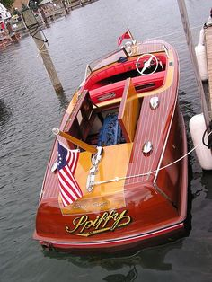 "Old School Chris Craft, my Uncle had one at Ky Lake named the ""Patty Ann""."