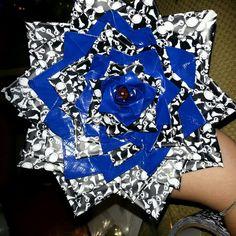 I made a ducktape flower. CUUUTTEE
