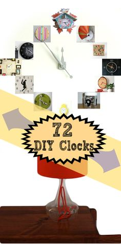 Time to DIY: 72 UNIQUE Ideas to Make a Clock Stand Out