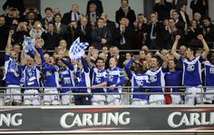 Birmingham City beat Arsenal 2-1 to win the Carling Cup on 27th February 2011