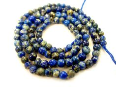Lapis Lazuli Smooth Round / 2 to 2.5 mm / 115 by beadsofgemstone