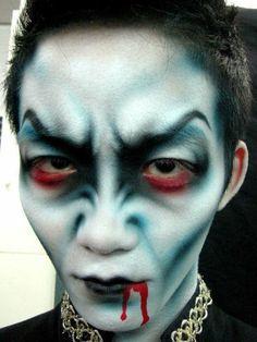maquillajes Halloween opciones vampiros ideas