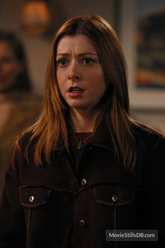 Buffy the Vampire Slayer - Publicity still of Alyson Hannigan