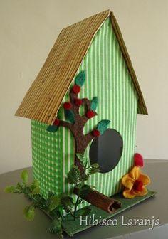 Ideias de casinhas de passarinho para decoração