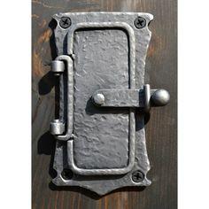 Speakeasy Portal Door Hand Forged Iron
