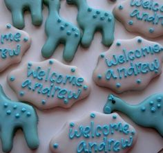 Baby Welcome Home Cookies