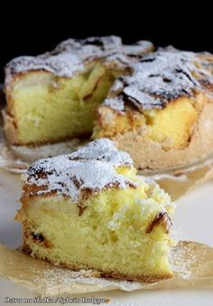 Apple Cake Recipes, Baking Recipes, Dessert Recipes, Carrot Cake Cheesecake, Food For Digestion, Bread Cake, Polish Recipes, Sweet Cakes, Cookie Desserts