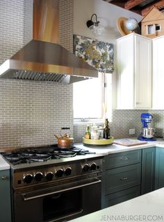 ▷1001 + Ideas For Stylish Subway Tile Kitchen Backsplash Designs