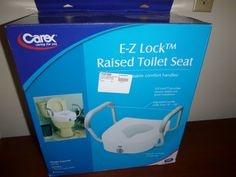 Medline Raised Toilet Seat With Lock And Arms Toilet Seats 171540 Pinterest Toilet And Arms
