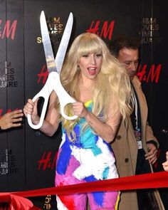 #LadyGaga is seen at the #H&M Times Square grand opening on November 13, 2013 in New York City  http://celebhotspots.com/hotspot/?hotspotid=31018&next=1