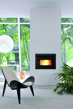 Insert à granulés IG+9 700 Foyers, Decoration, Architecture, Houses, Fire Places, Drive Way, Spaces, Home Remodeling, Diy Ideas For Home