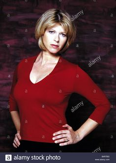 GMTV presenter Kate Garraway Staring into the lens with hands on hips studio pix Stock Photo Kate Galloway, Red Friday, Hands On Hips, Tv Presenters, Lorraine, Pose Reference, Dress Red, Vectors, Red Carpet