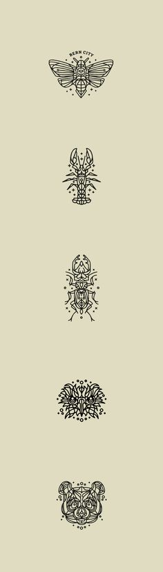 Animal Tattoo's (small compilation) on Behance