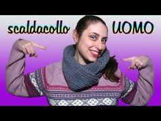 Tutorial scaldacollo all'uncinetto da UOMO | How to crochet a scarf