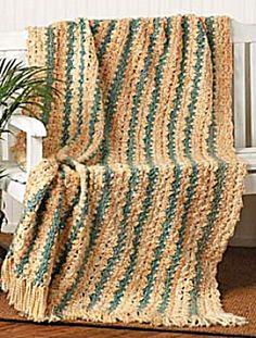 Ravelry: Sunlit Stripes Afghan pattern by Lion Brand Yarn