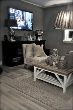 Lofts and small space's, love the grey!