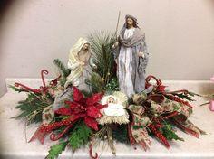 Nativity | Christmas Centerpieces | Pinterest | Nativity and Christmas