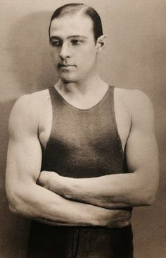 Rudolph Valentino prided himself on being in superb shape.
