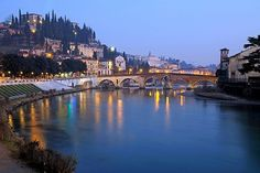 #Italy is crossed by many charming #rivers which offer a natural scenic beauty. The longest ones are located in the northern Italy, because the #Apennines split the country in two parts. Adige in Verona