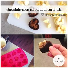 Chocolate-Covered Banana Caramels by Brilliant by Brooke Guest Post via Nutritionist in the Kitch