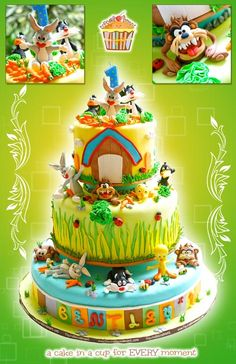 Another Looney tunes cake