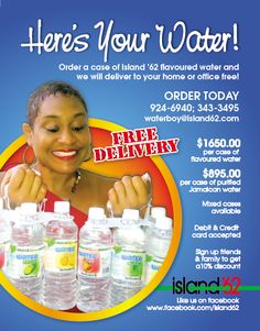 Island '62 Flavoured Water- Local flavour is finally in style