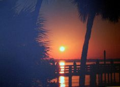 The Sunrise over the water with a few on by DawnInTheSunrise, $50.00