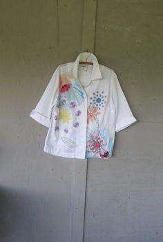reciclado camiseta funky ropa romántico por lillienoradrygoods