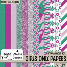 Girls Only Paper Pack
