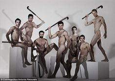 Hockey totty: Meet the GB hockey team – and naked Cosmo centrefolds – who prove that theirs is the sexiest Olympic sport... Yuuuummmmm!!!