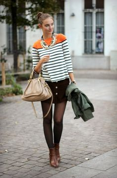 Polienne: STRIPES & STATEMENT