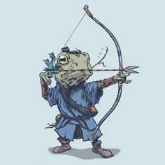 Tagged with art, awesome, frogs, creativity, samurai; The Lily Pad 7 by Conor Nolan Character Concept, Character Art, Concept Art, Character Design, Character Illustration, Illustration Art, Illustrations, Dnd Characters, Fantasy Characters