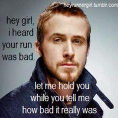 Hey runner girl