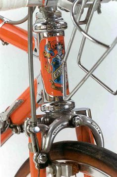 Cinelli head tube.
