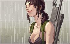 Metal Gear Solid V Pixel Artist: Einsbern Source: einsbern.tumblr.com