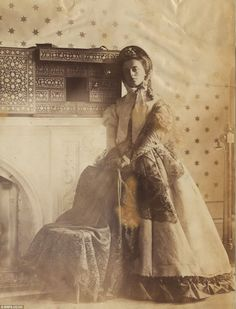 Lady Hawarden enlisted her daughters (Isabella, above) as models and got to work with a stereoscopic camera and set the standard to which aspiring photographers reach for today