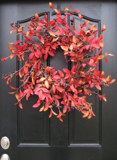 THANKSGIVING DECOR Fall Wreaths Autumn Decor by twoinspireyou
