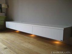 Marktplaats.nl > design lowboard mat wit zwevend van ARTYX op maat - Huis en…