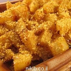 תפוחי אדמה בתנור קריספי, תפוחי אדמה טעימים טעימים כאלה שהילדים לא יכולים לעמוד בפניהם תתכוננו לקבל הרבה מחמאות כי זה המתכון לתפוחי אדמה מושלמים להתמכר אליהם
