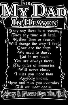 dad in heaven quotes from daughter - Bing images Rip Daddy, Miss My Daddy, Miss You Dad, Miss You Songs, I Love My Dad, Daddy Daughter, Dad In Heaven Quotes, Daddy In Heaven, Missing Dad In Heaven