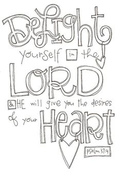 Delight in the Lord!