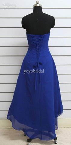 back of the bridsmaid dress