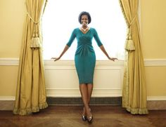 Michelle Obama at Home in the White House