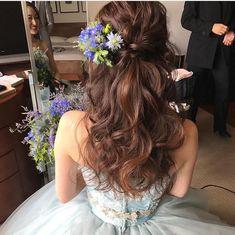 Wedding Makeup Bridal Romantic New Ideas Bun Hairstyles For Long Hair, Romantic Hairstyles, Formal Hairstyles, Bride Hairstyles, Bridal Hairdo, Wedding Updo, Korean Wedding Hair, Best Wedding Makeup, Bridal Makeup
